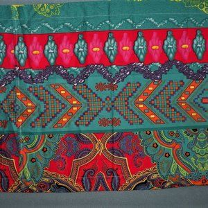 NWOT 2 Tribal Print Standard Pillow Shams Microfib